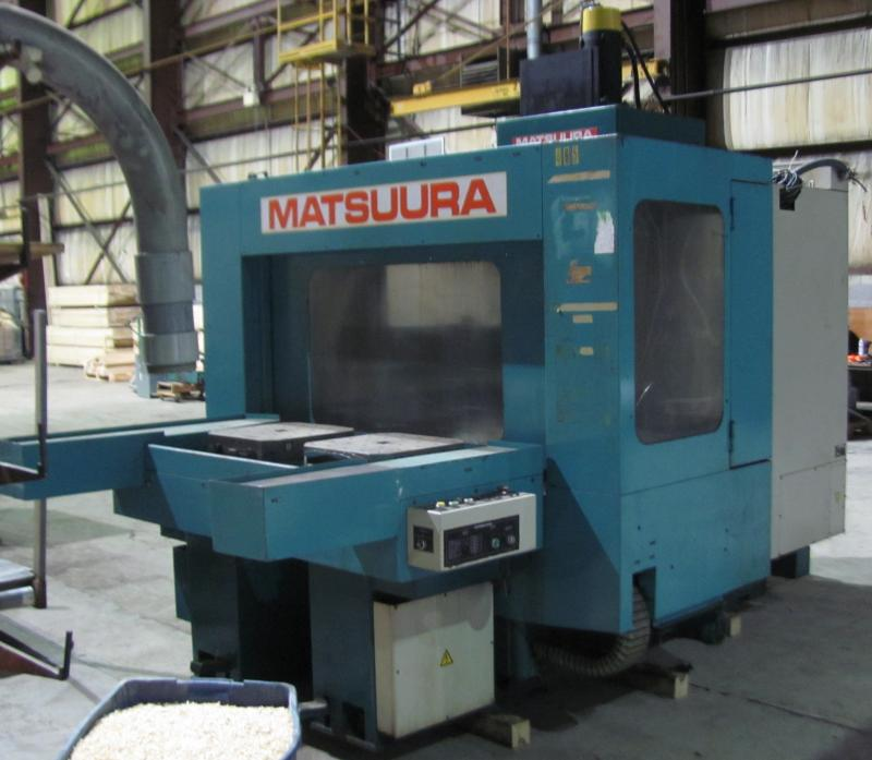 Fanuc 6MB test machine, a large horizontal machining center (HMC)