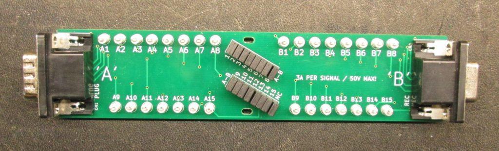 DSUB 15HD BoB Board