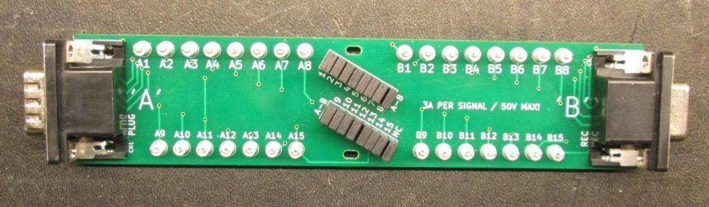 BoB-DSUB15HD test board