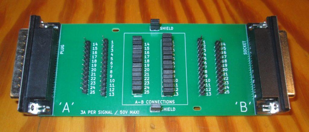 BoB-DSUB25 breakout board